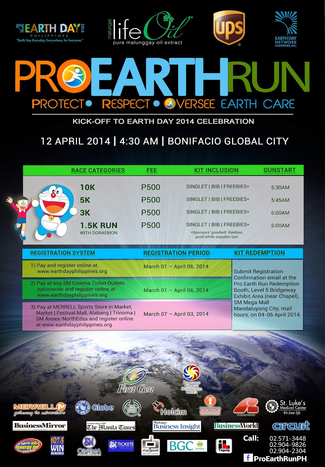 Pro Earth Run: Protect, Respect, Oversee