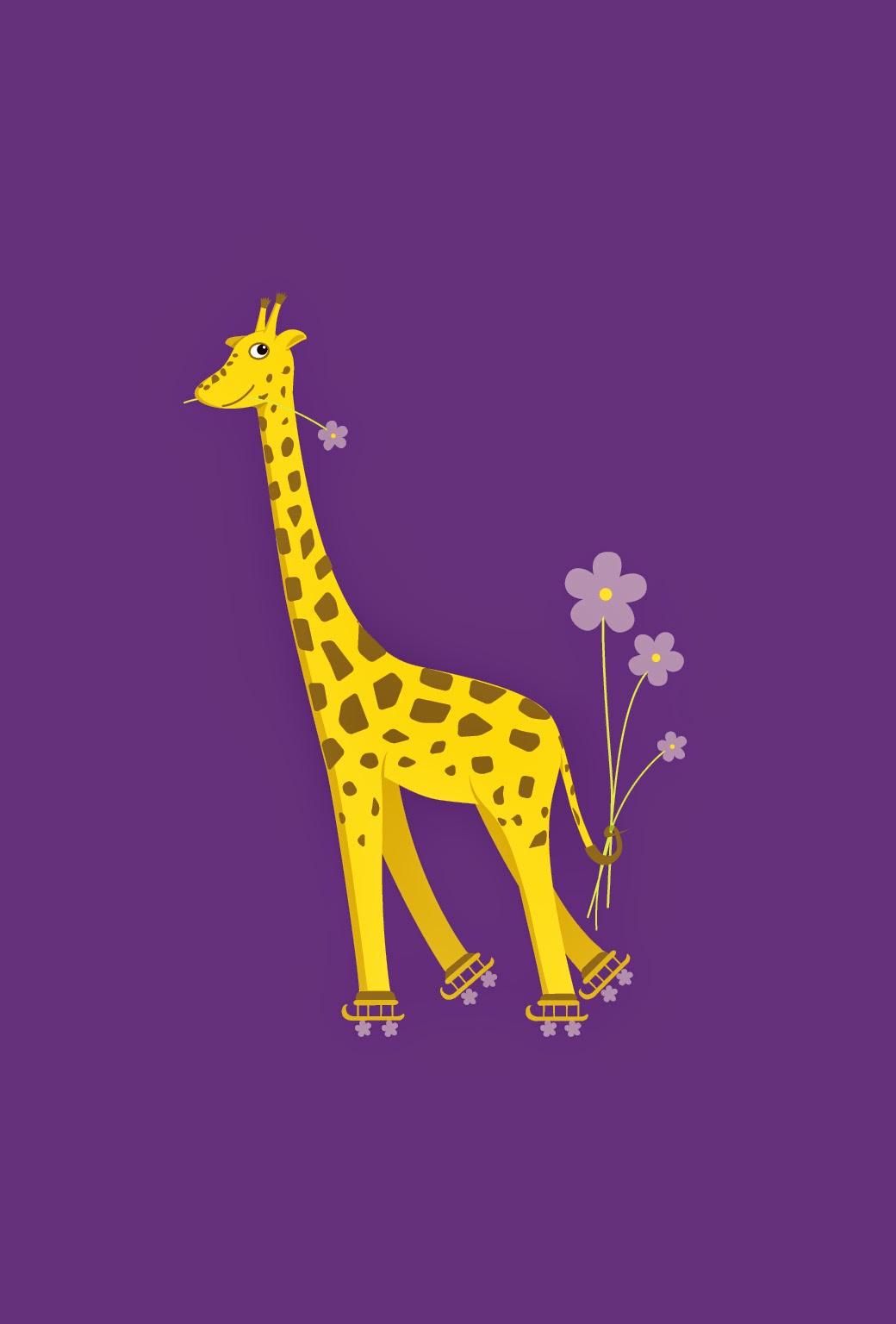 Cute Giraffe Wallpapers WallpaperPulse