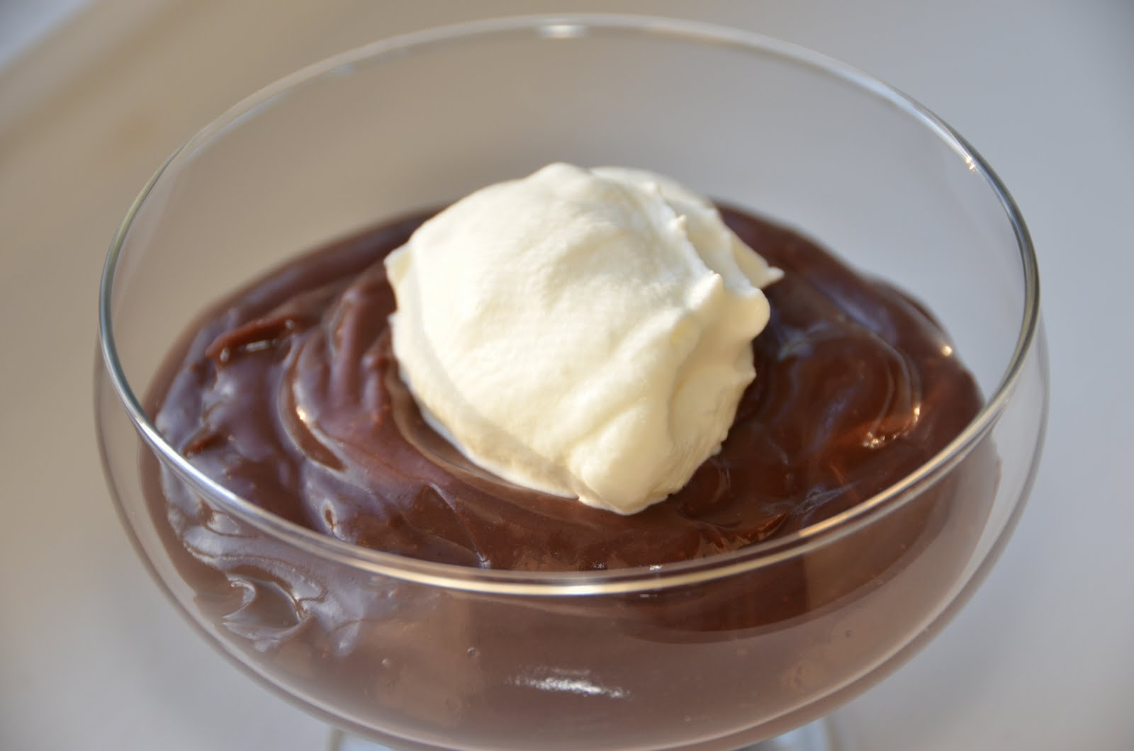 Playing with Flour: Chocolate pudding