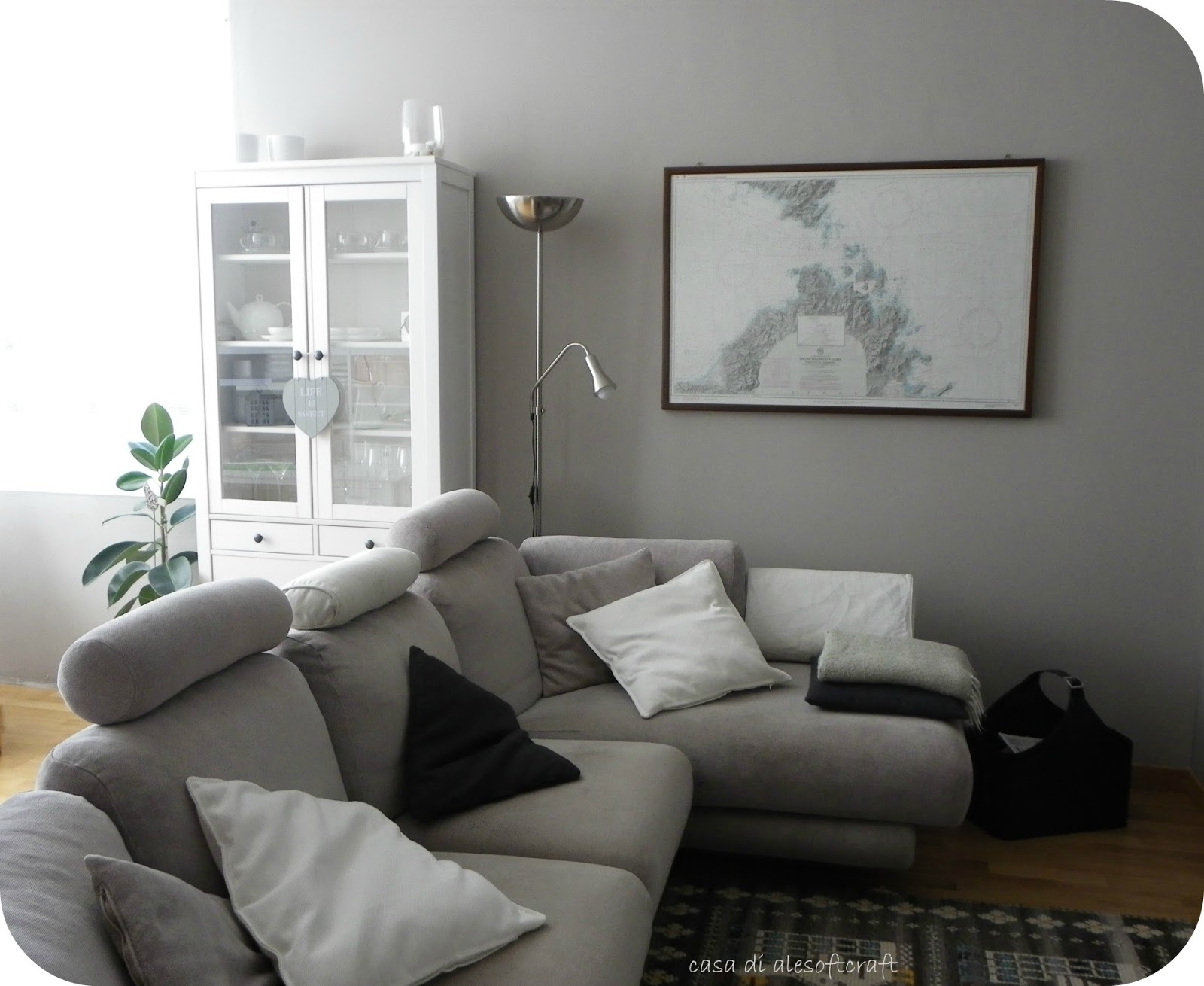 Tessuti creativi by alesoftcraft nuovi colori - Consolle dietro divano ikea ...