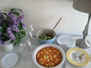 Breakfast Bake: Leeks, Smoked Salmon, Cheddar & (a little ...