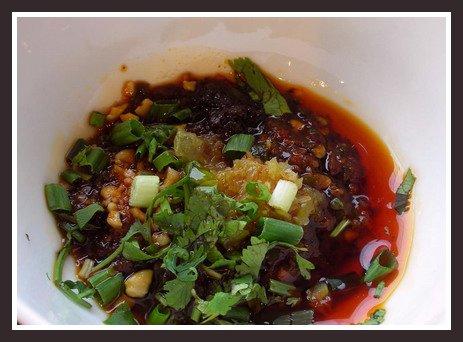 The True Taste of China: Dumpling Dipping Sauce (水饺调料)
