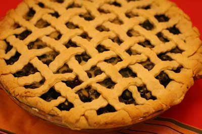 hamptons blueberry pie