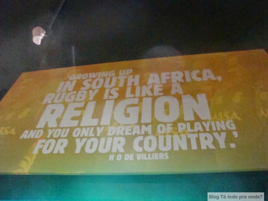 The Springbok Experience, museu do rugby na Cidade do Cabo