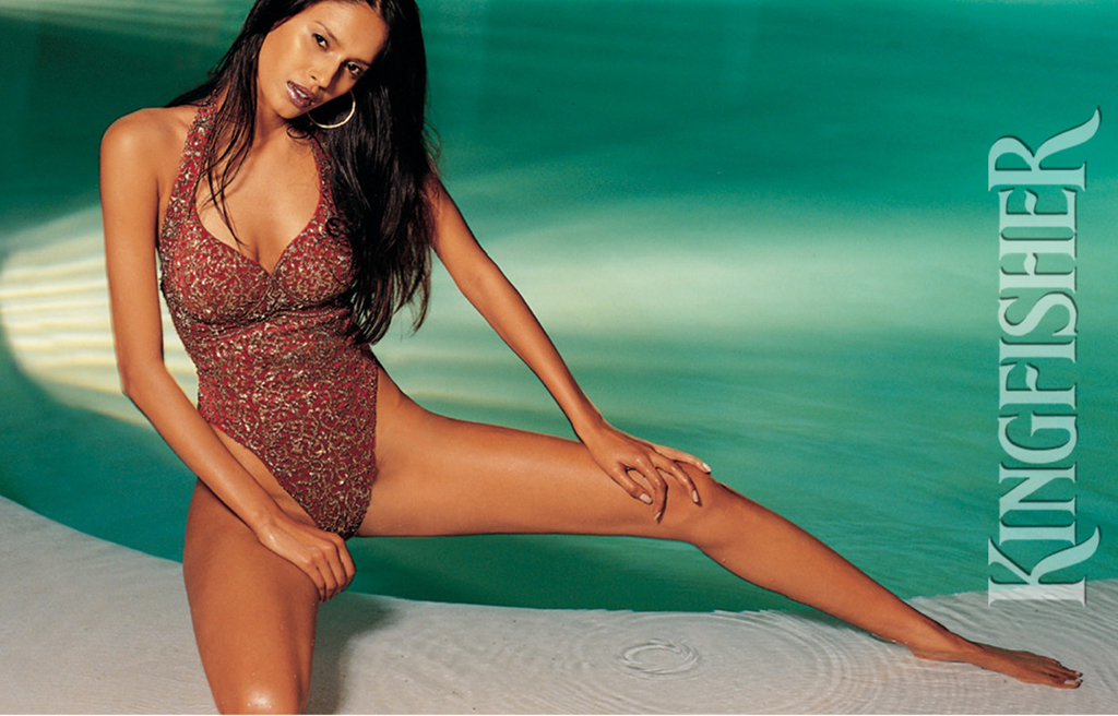 ... kingfisher bikini celebrity ... Katrina Kaif In Kingfisher Calendar