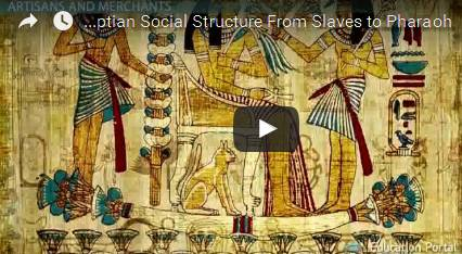 Ancient Egyptian Social Structure  From Slaves to Pharaoh