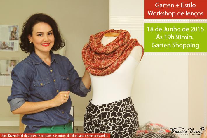 Blog de acessório, lenço, blog da Jana, Joinville, Garten Shopping, Moda, estilo.
