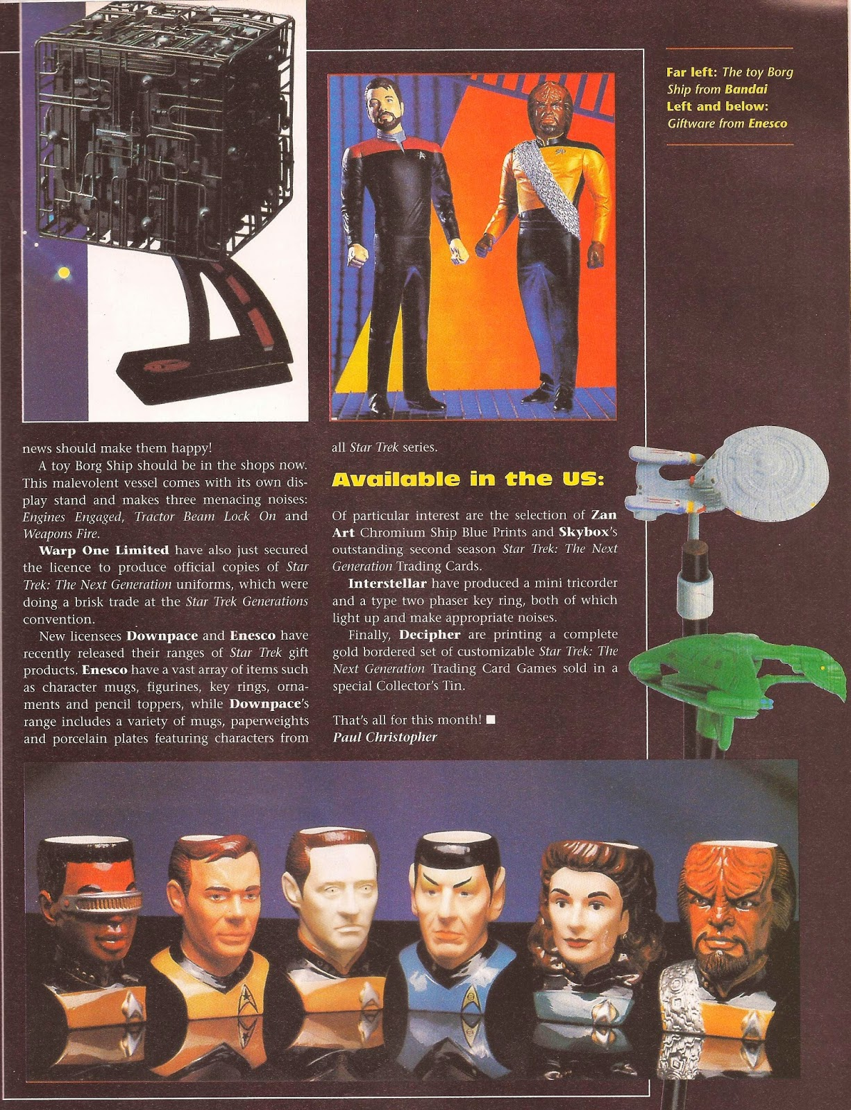 Star Trek Playmates Advertisement