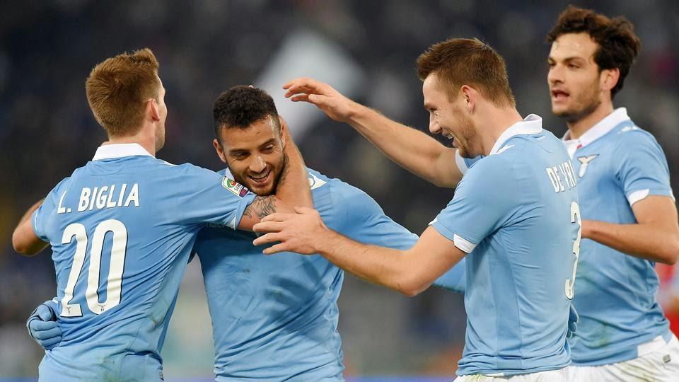 Serie A: anticipo Lazio Sampdoria 3-0