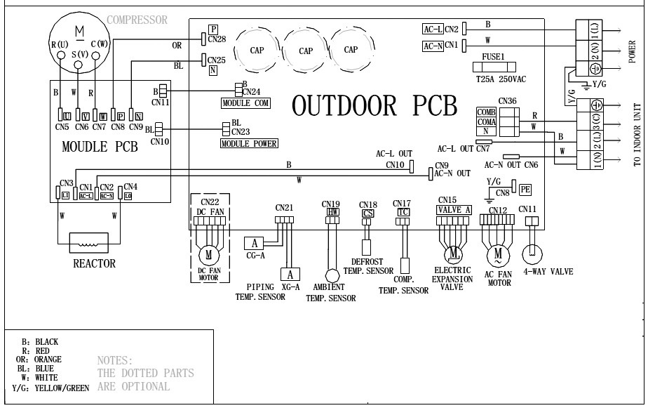 dc inverter ac haier hsu 18hea wiring diagram circuit circuit diagrams