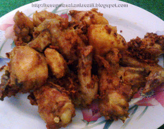 Resep Ayam Goreng Gurih Sederhana