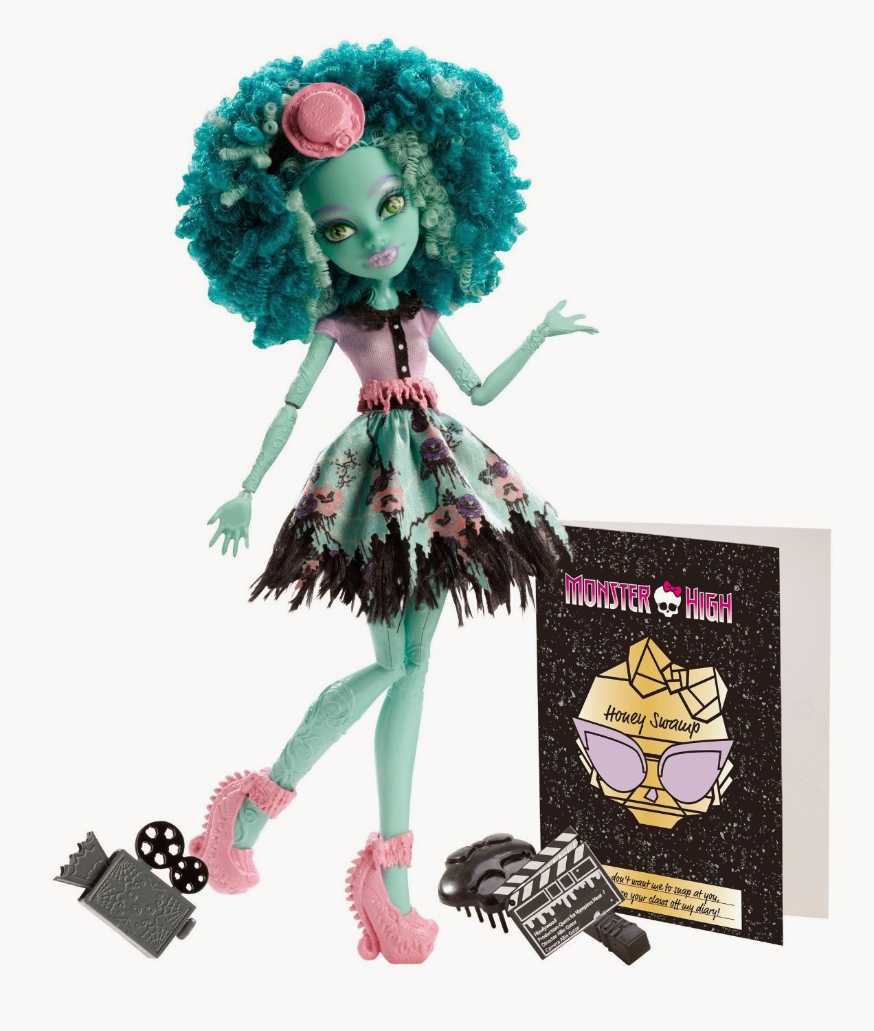 Monster High Toys : Libros y juguetes demagiaxfa toys muñeca honey swamp