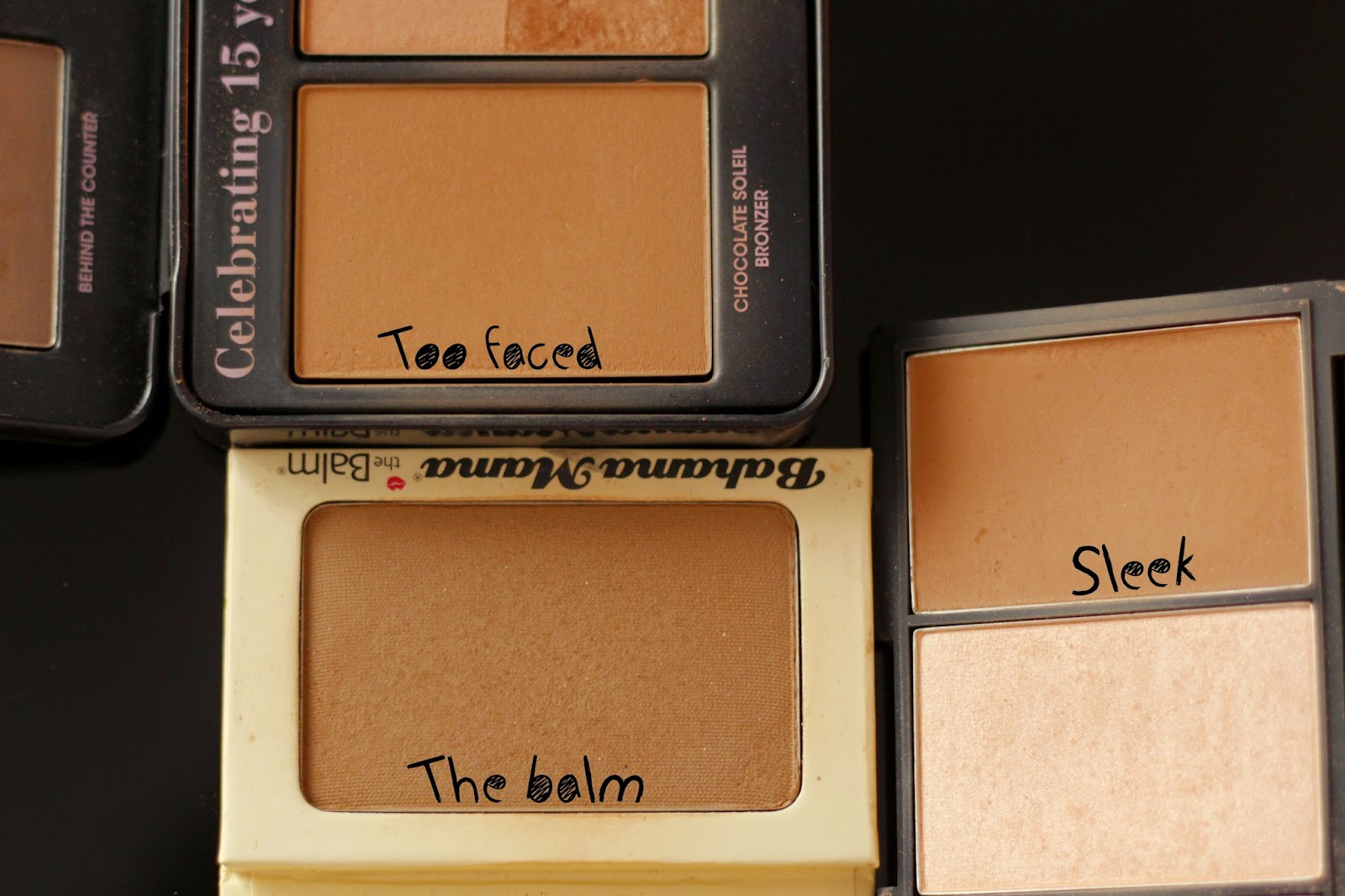 bronzer too faced bahama mama the balm sleek