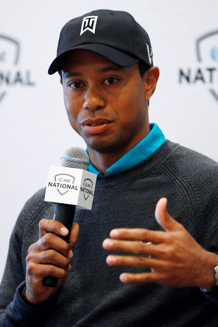 Tiger Woods in interview