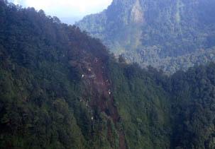 Mitos Gunung salak tempat jatuhnya pesawat sukhoi super jet 100