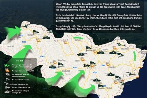 Bạn biết gì về cuộc chiến tranh biên giới Việt - Trung 1979?