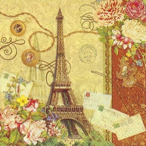 Arte com Encanto by Vastí Fernandes: Imagens Vintage Paris ... - photo #33
