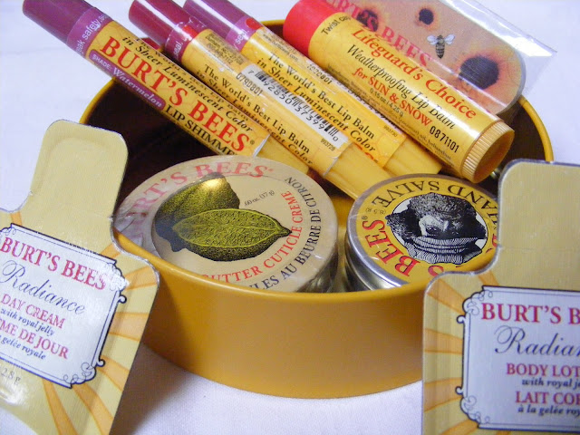 A picture of Burt's Bees Products
