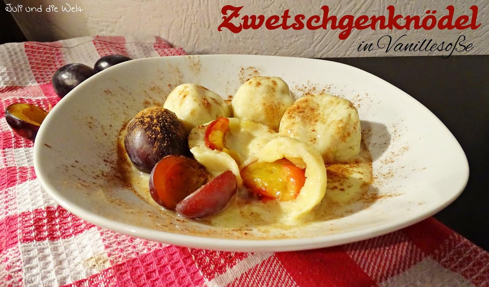Juli´s Welt: Mein Lieblingsessen: Zwetschgenknödel {saisonale Küche}