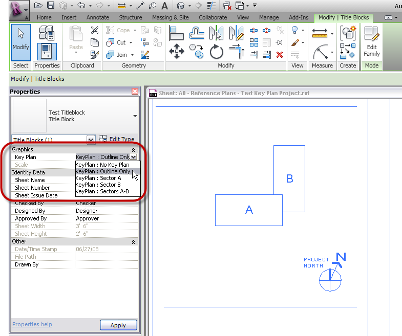 Revit Elevation Key Plan : The architect s desktop revit key plans more detail