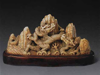 Boston collection, Ming Dynasty Carved Ivory