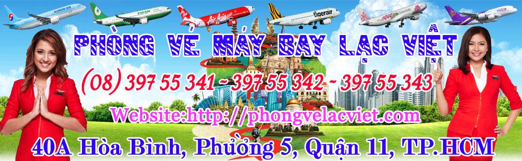 Phòng vé máy bay Lạc Việt