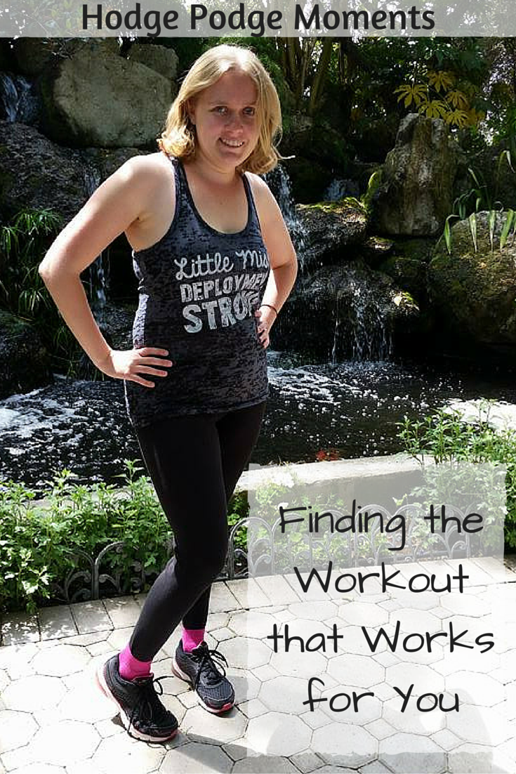 Finding the Workout that Works for You