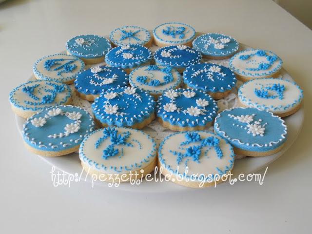 Biscotti decorati cielo incantato