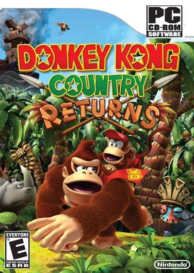 Donkey Kong Country Returns Descargar PC Full Español ISO DVD5 2012