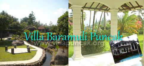 Villa Baramuli Puncak