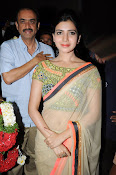 Samantha Latest Glam pics in saree-thumbnail-9
