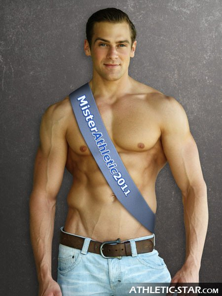 Picture About Male Model Toby Schuetz as Mister Athletic 2011