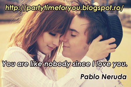 You are like nobody since I love you.