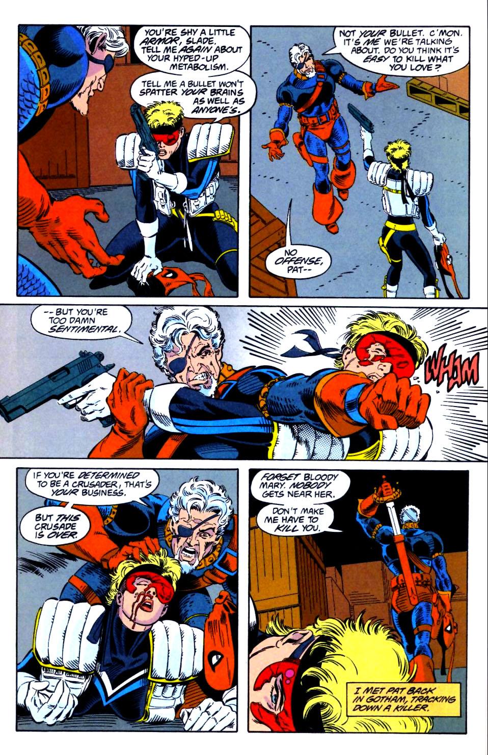 Deathstroke (1991) Issue #21 #26 - English 11