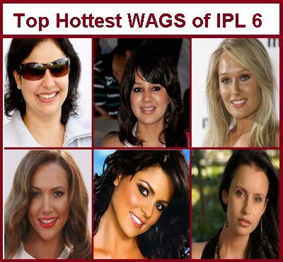 Top Hottest Wags of IPL 6: Vote Now