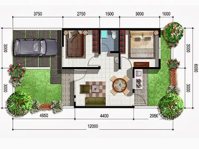 rumah minimalis mungil indah