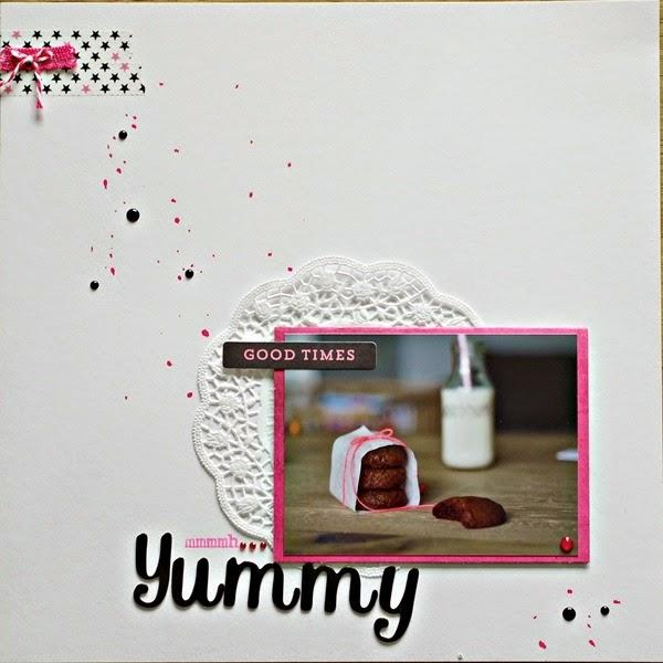 Komm Spielen Layout Themenchallenge Yummy von www.danipeuss.de