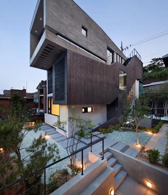 Rumah Modern Korea 1