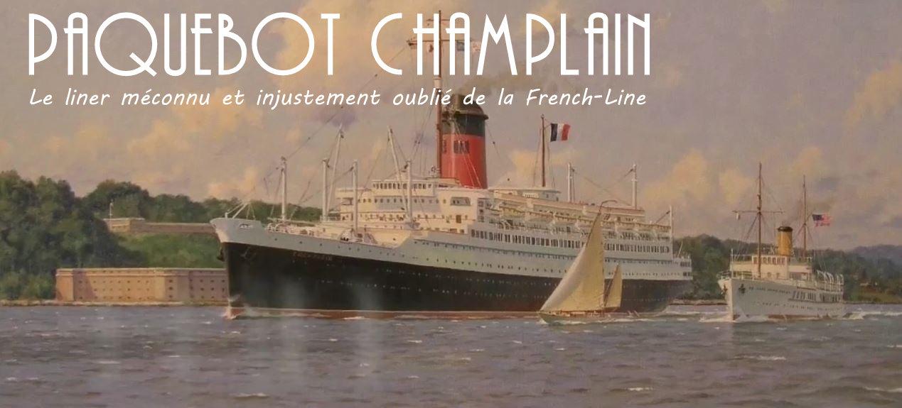 le paquebot Champlain