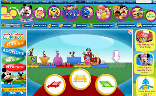 Disney Play House Preschool Games