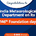 Congratulations to India Meteorological Department on its 146th Foundation Day.