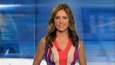 Pretty News Presenter