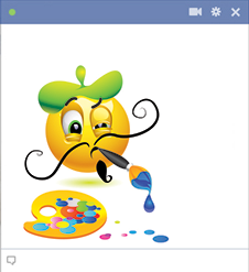 Painter Facebook Emoticon
