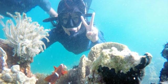 Pulau Beras Basah, Surga Liburan Berpasir Seputih Beras