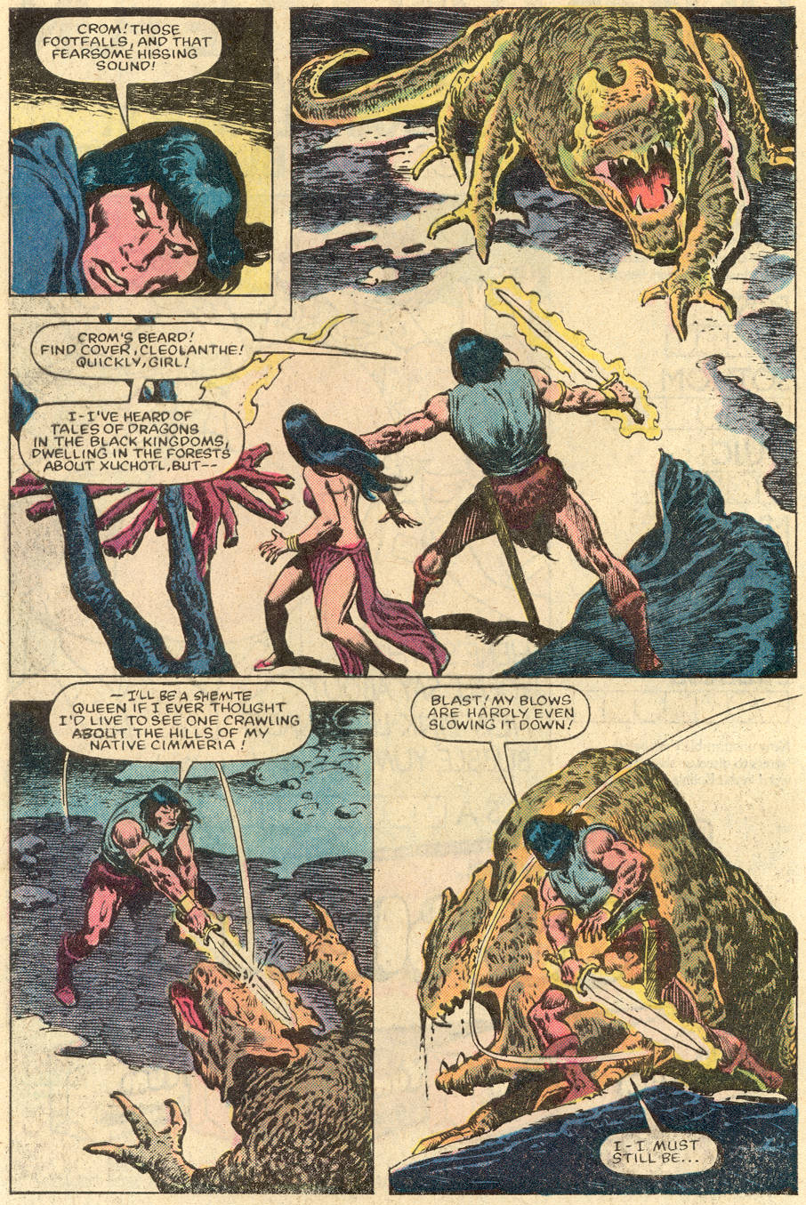 Conan the Barbarian (1970) Issue #152 #164 - English 13