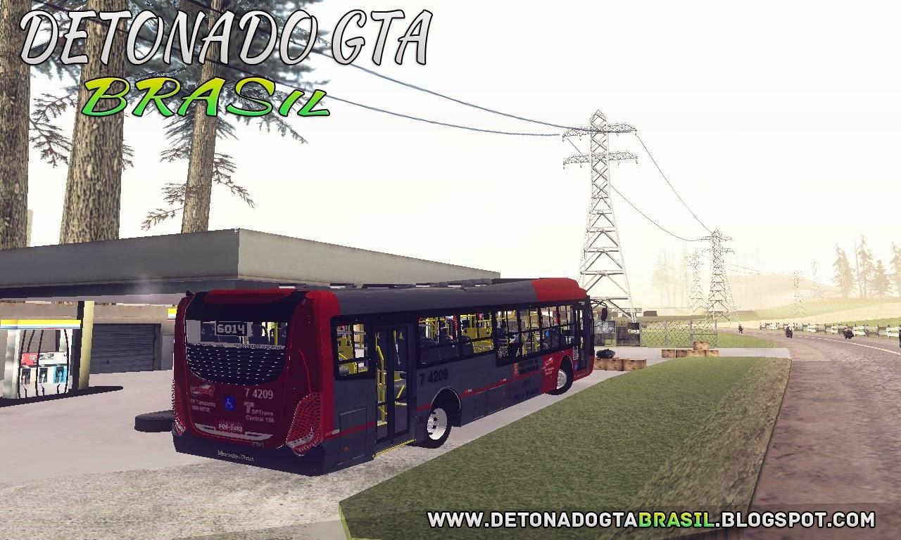 GTA SA - Caio Millennium BRT O-500U Blue Tec 5 VIP