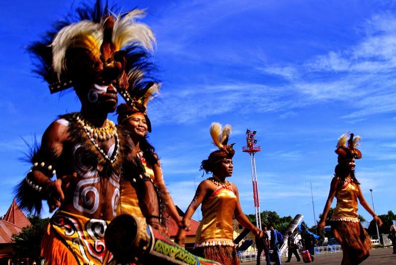 Tari Selamat Datang Asal Papua Timur