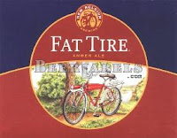 New Belgium Fat Tire bottle label