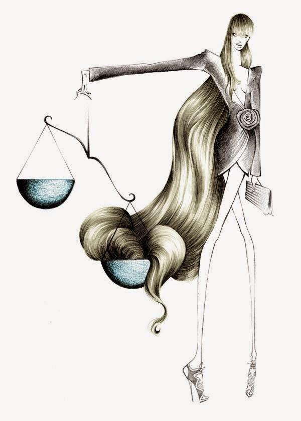 Dibujo de Mujer Moderna, Singo Libra