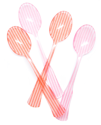 Candy Stripe Tea Spoon from Leif